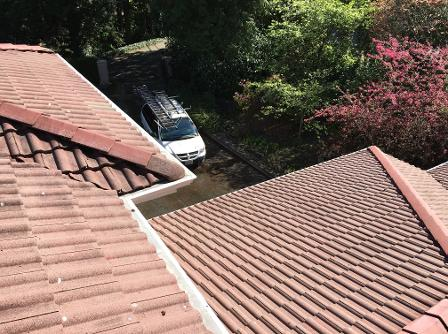 Tile Roof Cleaning, A Fine Reflection Roof Cleaning, Gutter Cleaning